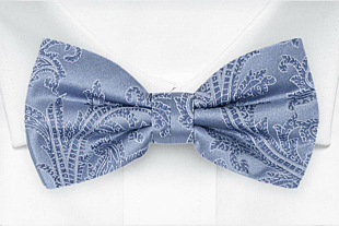 AISLEWALKER Dusty blue bow tie