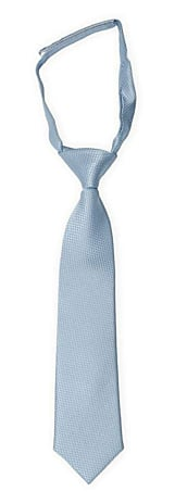 BIRDSEYE Dusty blue boy's tie small pre-tied