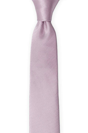 BIRDSEYE Dusty purple skinny tie