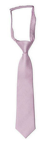 BIRDSEYE Dusty purple boy's tie small pre-tied
