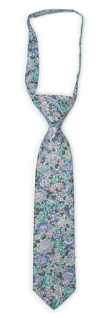 BLOOMBUCKET Light blue boy's tie small pre-tied
