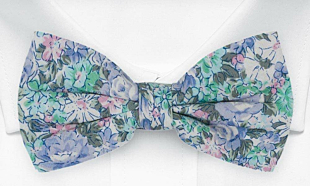 BLOOMBUCKET Light blue bow tie