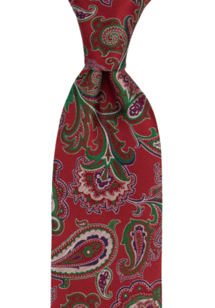 BOFFOLA Red tie