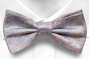 BOTANIFTY Purple bow tie
