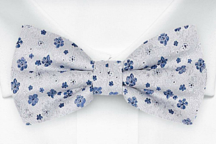 BOUQUET Blue bow tie