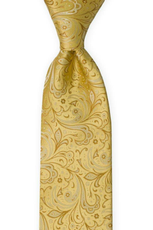 BRIDALLY Golden yellow tie