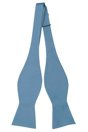 BROLLOP BLUE self-tie bow tie