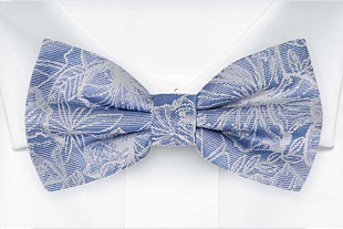 CORSAGE Sky blue bow tie