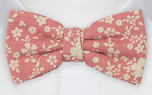CUPIDITY Pink bow tie