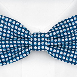 ECLISSI Blue bow tie