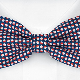 ECLISSI Red bow tie