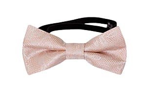 EVERAFTER Blush pink baby bow tie