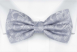 EVERAFTER Dusty blue bow tie