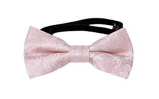 EVERAFTER Powder pink baby bow tie
