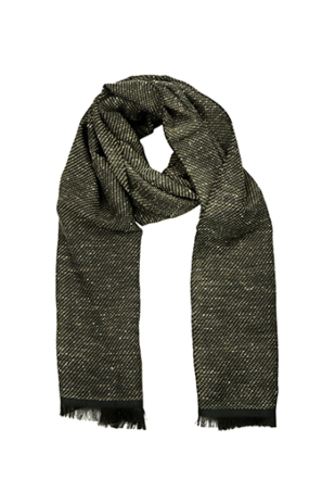 FANTASIA Forest green scarf