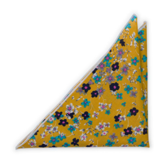 FLORASTIC Honey pocket square