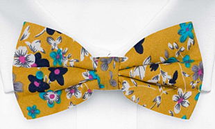FLORASTIC Honey bow tie