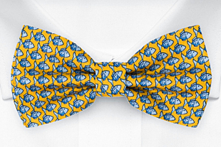 FORZAPESCE Yellow bow tie