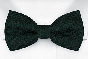 GRENADINE Forest green bow tie