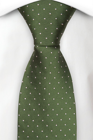 GRONGOLING GREEN classic tie
