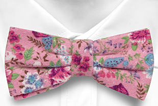 HAPPYSPROUT Pink bow tie