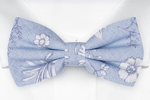 ICEMAIDEN Blue bow tie