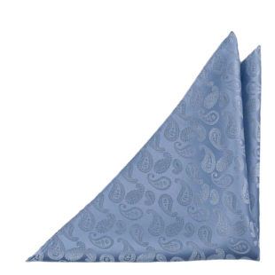 BRUD Blue pocket square