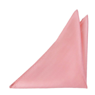 DRUMMEL Pastel pink pocket square