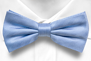JAGGED Blue bow tie