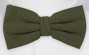 MOREAMORE Seaweed green bow tie