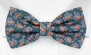 SEEDSWIMMER Pine pre-tied bow tie