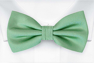 SOLID Seafoam turquoise bow tie