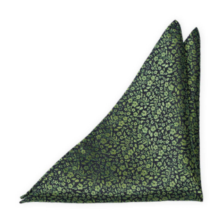 TUSSIEMUSSIE Green pocket square