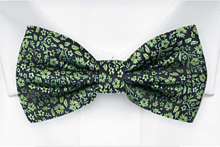 TUSSIEMUSSIE Green bow tie
