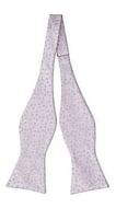 AUGURI Pale purple self-tie bow tie