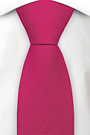 BASKETVEIL Hot pink classic tie