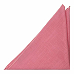BASKETVEIL Pink pocket square