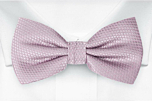 BIRDSEYE Dusty purple boy's bow tie