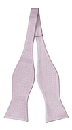 BIRDSEYE Dusty purple self-tie bow tie
