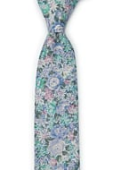 BLOOMBUCKET Light blue skinny tie