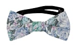 BLOOMBUCKET Light blue baby bow tie