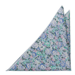BLOOMBUCKET Light blue pocket square