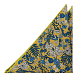 BLUEBREW Yellow pocket square