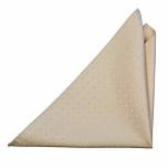 BRUDGUM CHAMPAGNE pocket square