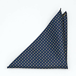 CASHKING Blue pocket square