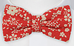 CUPIDITY Red pre-tied bow tie