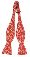 CUPIDITY Red self-tie bow tie