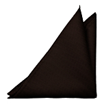 DRUMMEL BROWN pocket square
