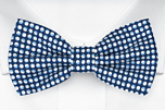 ECLISSI Blue pre-tied bow tie