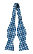 ECLISSI Blue self-tie bow tie
